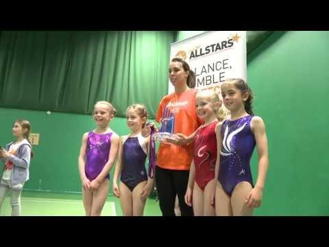 Beth Tweddle Gymnastics Master Class at David Lloyd Leisure