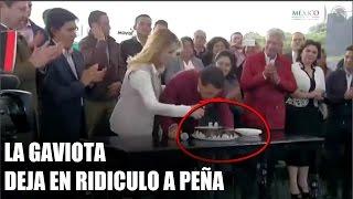"""Angelica Rivera """"Deja en Ridiculo"""" y se averguenza de Peña Nieto durante el evento"""
