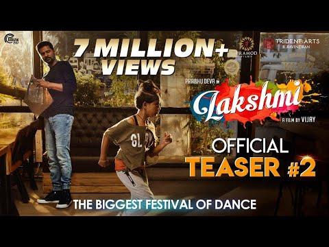Lakshmi |Tamil Teaser 2 | Prabhu Deva, Aishwarya Rajesh, Ditya Bhande | Vijay | Sam C S | Official