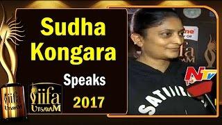 Director Sudha Kongara about Her Movie Nomination @ IIFA Utsavam || #IIFAUtsavam2017