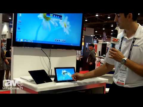 InfoComm 2014: Newline Demonstrates its Wireless Interactive Presentation System