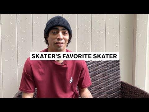 Skater's Favorite Skater | Milton Martinez