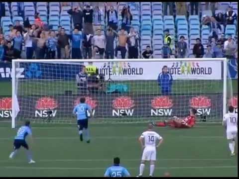 ALEX DEL PIERO Penalty Goal 28.10.2012 SYDNEY FC vs PERTH GLORY 2-1