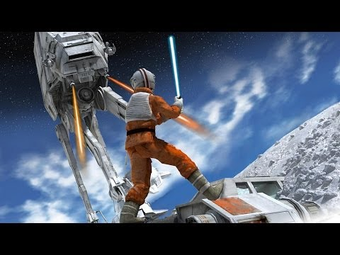 The Evolution of the Most Iconic Star Wars Battle in Video Games - Video Game History Month 2014