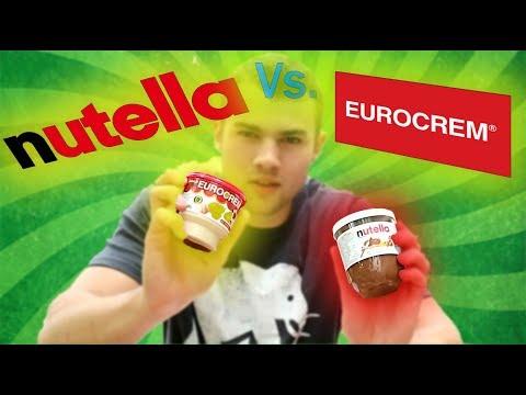 NUTELLA VS EUROCREM TASTING CHALLENGE | VLOG 017