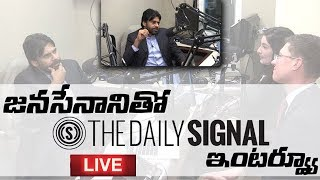 Daily Signal interviews Janasena Chief PawanKalyan and Sri Nadendla Manohar | Podcast