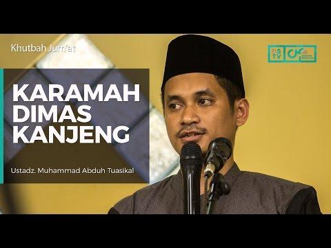 Khutbah Jum'at : Karamah Dimas Kanjeng - Ust Muhammad Abduh Tuasikal