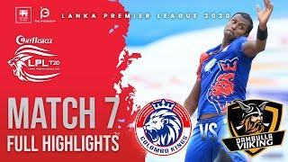 Match 7 | Colombo Kings vs Dambulla Viiking | LPL2020 Full Highlights