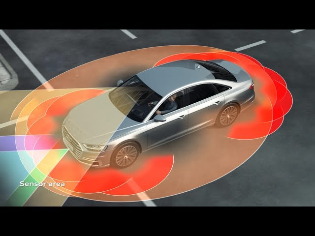 Audi A8 Audi AI traffic jam pilot