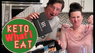Keto What I Eat in a Day / New Foods & Wine Tasting