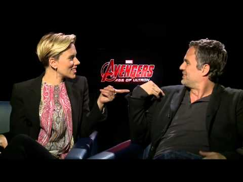 Scarlett Johansson and Mark Ruffalo talk 'Avengers: Age of Ultron'
