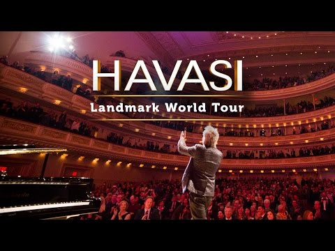 HAVASI - Landmark World Tour Debut At Carnegie Hall