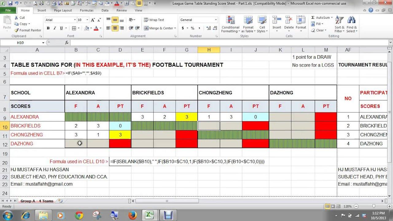 2003 Excel Templates