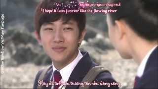 Vietsub + kara Lời thề nguyện   Ali Cầu Vồng Hoàng Kim  Do Young and Baek Won