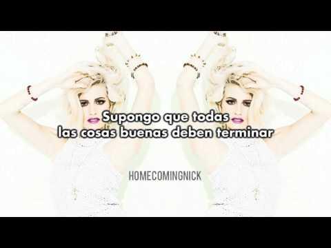 Pixie Lott - Cry And Smile (Español/Lyrics)
