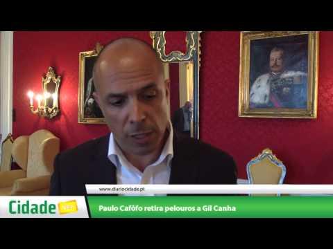 Paulo Caf�fo retira pelouros a Gil Canha