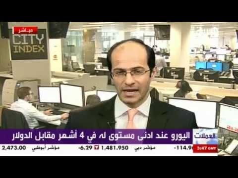 أشرف ألعايدي على قناة العربية -- 14 مايو 2012 Chart