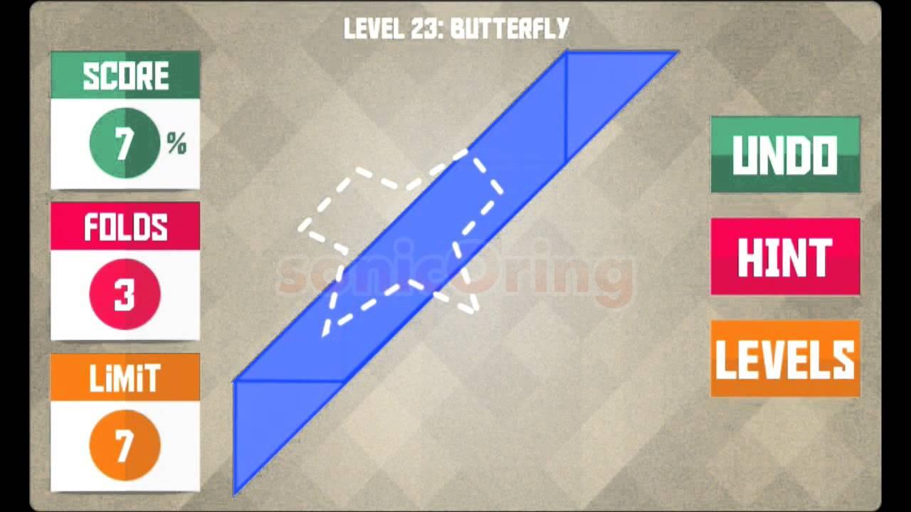 Level Game Level 23 Paperama Jabara Level 23