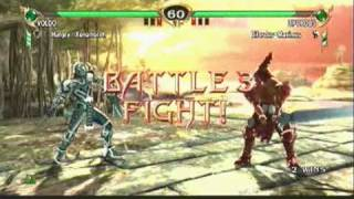 SoulCalibur IV - Siegfried vs Voldo
