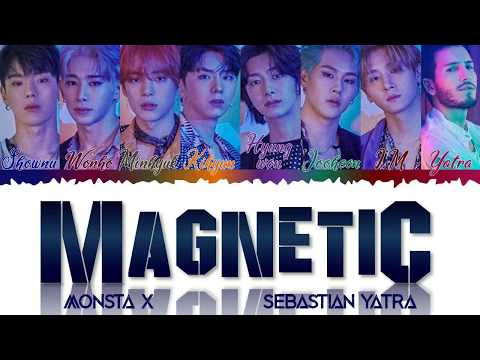 Download MONSTA X 몬스타엑스, Sebastián Yatra - Magnetic Color Coded s /Eng/Esp Mp4 baru