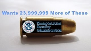 TSA Orders 24 MILLON Rounds Of .357 Sig Ammo