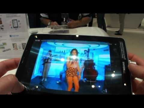 Tablet Samsung Galaxy Tab 7.7 hands on – Android 3.2 dualcore 1.4 Ghz