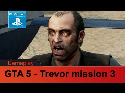 GTA 5 PS3 gameplay Trevor Mission 3