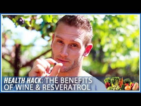 How to Stay Healthy with Wine | Benefits of Resveratrol: Health Hack- Thomas DeLauer