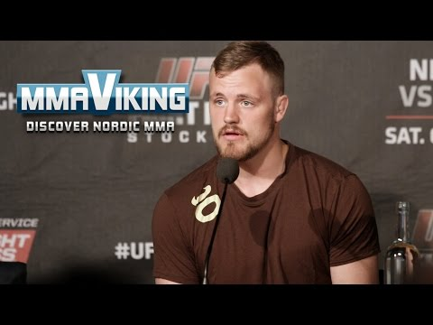 Gunnar Nelson UFC Sweden 3 Press Conference Highlights