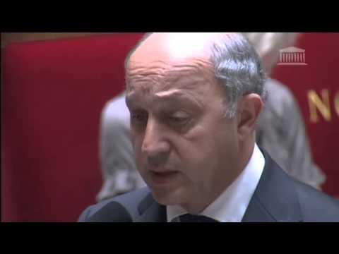 Situation à Gaza : réponse de Laurent Fabius à une question à l'Assemblée nationale (23/07/2014)