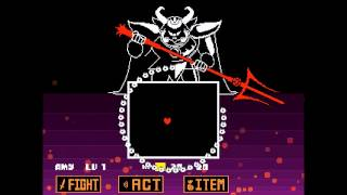 Undertale - Neutral - Asgore fight
