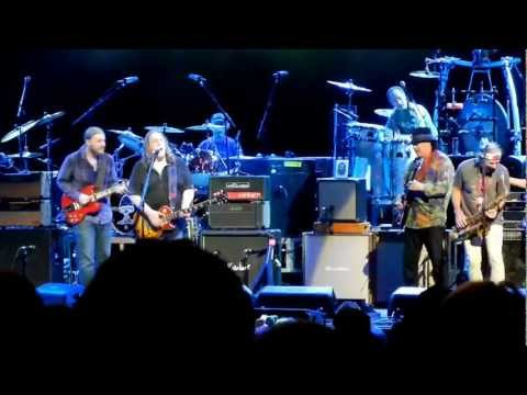 Allman Brothers (With Carlos Santana) 7.28.12 All Along the Watchtower.