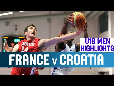 France v Croatia - Highlights - 1st Round - 2014 U18 European Championship