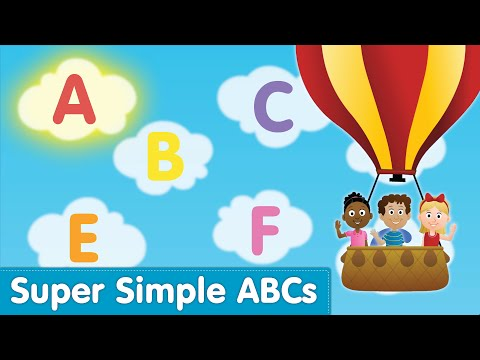 The Super Simple Alphabet Song (uppercase) | Super Simple Abcs video