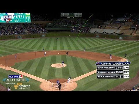 NYM@CHC: Coghlan hits a two-run homer in the 6th