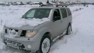 Pathfinder and Forester have problem in snow 1