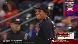 Texas Tech vs Texas Baseball Highlights - Game 1