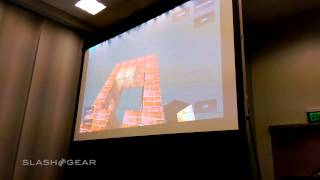 Project Tango Minecraft demo at GTC 2015