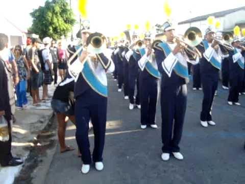 Banda Marcial Ivanilda Ramalho 2010 - Sinfonia Africana