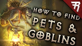 Diablo 3 Best Goblin Farm Routes: Rainbow Goblins & Pet (Menagerist) Goblins (Guide)