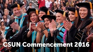 CSUN Commencement 2016: Education and Social & Behavioral Sciences I