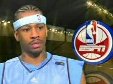 Allen Iverson (Denver Nuggets) vs Lebron James Game 06/07