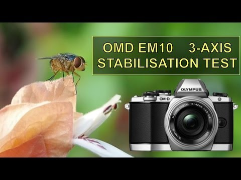 OMD EM10 3-Axis Stabilisation Tests  -  OM-D E-M10 Day 1