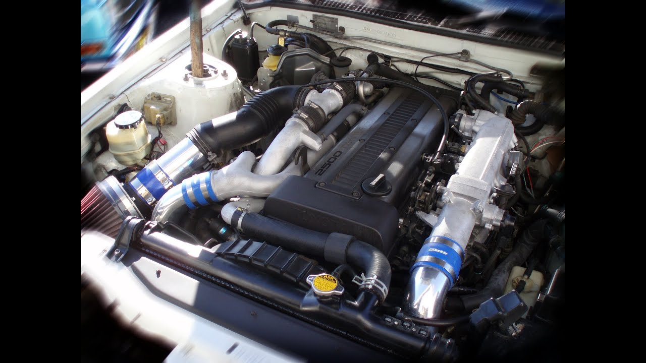 Ga61 Celica Xx Engine Swap 1jz Gte Amp R154 Youtube