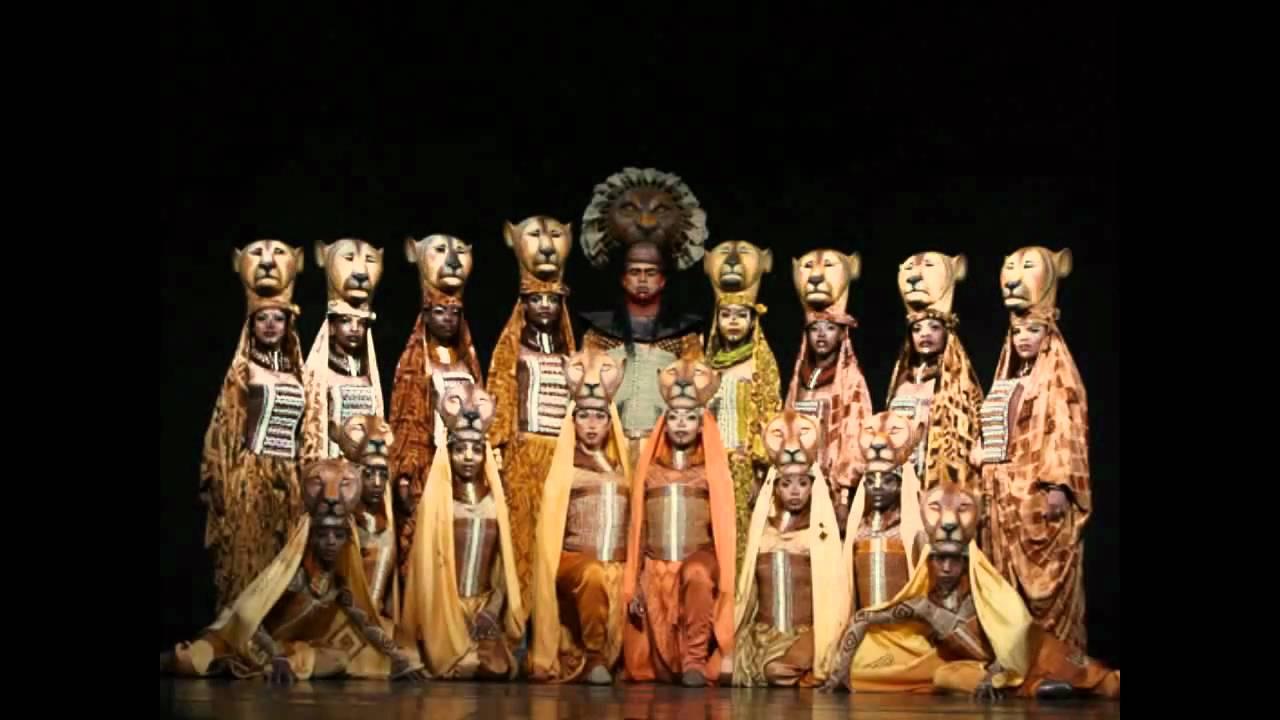 Lion King Broadway Sarabi Lion King Broadway Shadowland