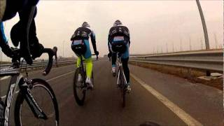 A training session with Passione Team