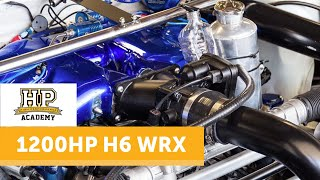 1200 HP Chain Driven 7 Second WRX | Andy Forrests 'Stormtrooper' [TECH TOUR]