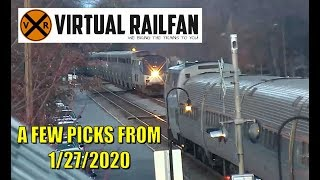 Strasburg Switcher 8618, 3 fire breathing Engines and more on 1/27/2020