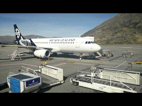 Queenstown Airport - Airbus A320 Turn Around