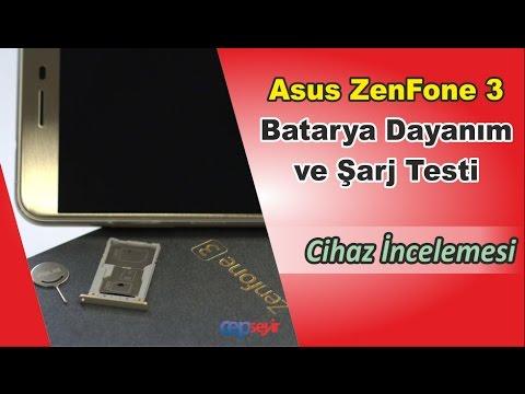 Asus ZenFone 3 Batarya Dayanım ve Şarj Testi
